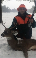 2019: Bill LaPann of Argyle, NY with a buck he tracked in Franklin County on Nov. 14.