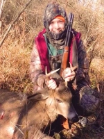2019: Shaena Simpson of Kingsbury with her first buck: a 150-pound, 4-pointer taken in Fort Ann on Nov. 23.