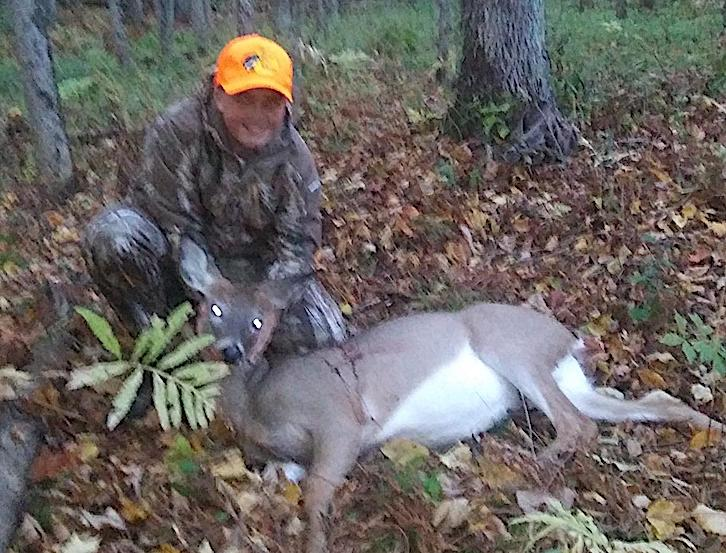 2020: Joey, age 14, of Moreau, got his first deer during the Youth Big Game hunt in Saratoga County