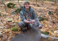 2020: Austin McKittrick of South Glens Falls killed his first Adirondack buck on opening day with the Iron Sight Gang in Bolton, Warren County. A 173-pound, 6-pointer.
