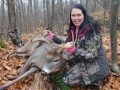 2020: Patty Ladd, of Kingsbury, with a 163-pound, 11-pointer taken with the Iron Sight Gang in Warren County, Nov. 13.