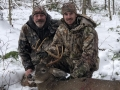 2020: Caleb Gates, of Hartford, and his father, Ron Gates with Caleb's Essex County 8-pointer taken Nov. 2.