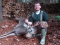 2020: Dennis Dempsey, of Thurman, shot this 8-pointer in his hometown on Nov. 1 in Warren County.