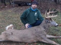 2020: Randy Beckwith with a 9-pointer taken Thanksgiving morning in Franklin County.