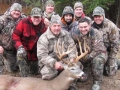 Bill Watters from Day, NY with a 157-pound, 15-pointer taken Nov. 14 while hunting out of the Dewey Woods Club in Day. the buck had a green score of 175 1/8