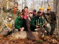 Zach Cast with 155-pound 10-pointer taken Nov. 6 in northern Fulton County out of the TT Hunting Club.