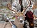 2016: Gary Askins of Lake Luzerne with a 160-pound, 9-pointer taken on Nov. 24 (Thanksgiving Day) in Warren County