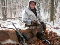 2017: Doug Coons (Windy HIll Club) of Queensbury with an 8-pointer taken Dec. 10, the last day of the late muzzleloading season, Hogtown, NY.