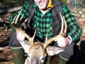 2012: Jim King of Watertown, NY, 9-pointer, 160-pounds, No-Luc Lodge, Stillwater Reservoir