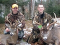 2012: Brendan Quirion of Saranac Lake and John Schroeder of Middleburgh, NY, 8-pointers, Essex County.