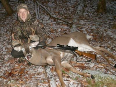 Dan Nellis with a Fulton County 8-pointer taken on Nov. 12.
