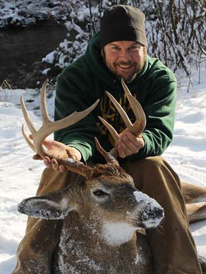 Toby Brown's 175-pound, 10 pointer taken in Franklin County on Nov. 8