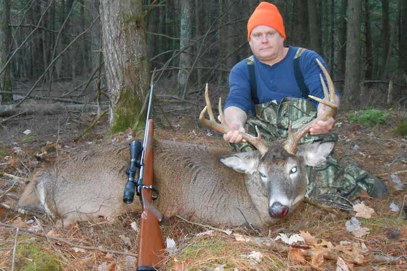 Dan Canavan shot this 190-pound, 9-pointer on Nov. 21, 2015 in Essex County