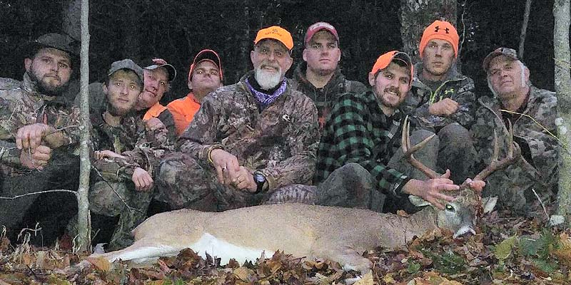 Ian Cast, 148-pound, 6-pointer taken Nov. 7 wi the T.T. Hunting Club, Fulton County