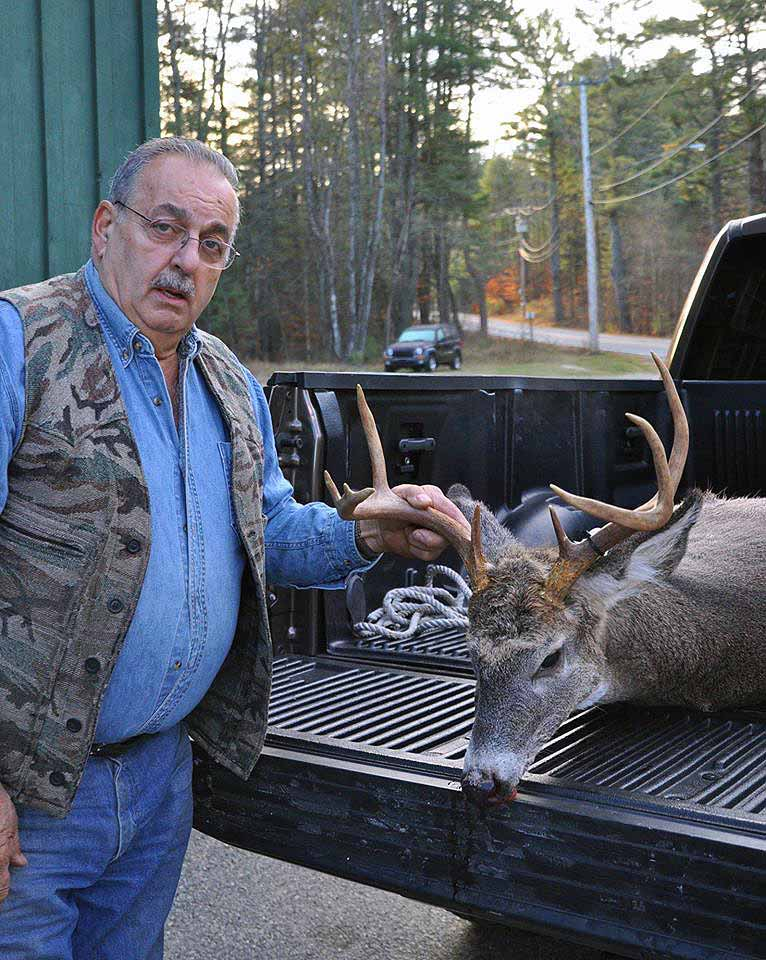 Cliff Gates of Warrensburgh, NY with a 159-pound, 9-pointer taken in Warren County.