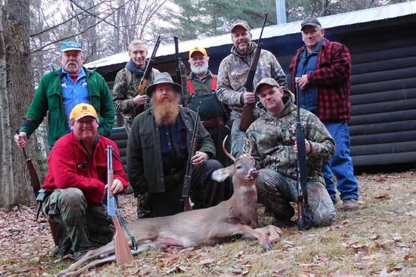 Ed Ladd of Kingsbury with a 5-pointer taken Dec. 3 in Warren County with the Iron Sight Gang