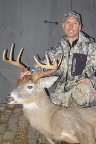 Jason Fitzpatrick with a big 9-pointer taken Dec. 3 in Hamilton County