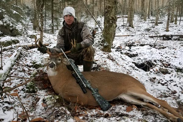 2017: Bryan Stuhlman of Whitesboro with a 170-pound, 7-pointer taken Nov. 17 in Webb, Herkimer County.