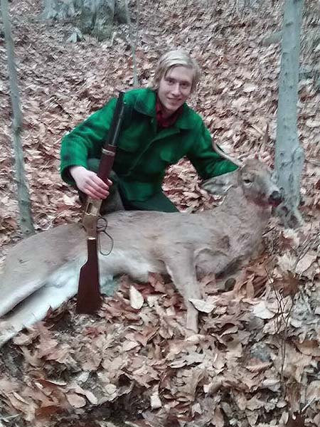 2017: Christian Chaney of the Iron Sight Gang with a 5-pointer taken Nov. 25 in Warren County.