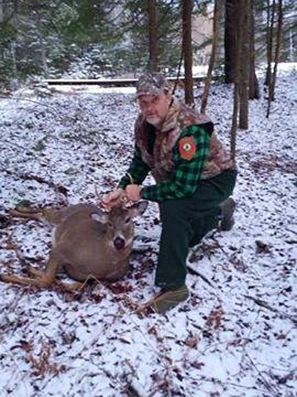 2017: Gene Gurewicz, Millinocket Maine: 140-pound, 5-pointer taken Nov. 17, 2917 in Blue Mountain Lake, Hamilton County.