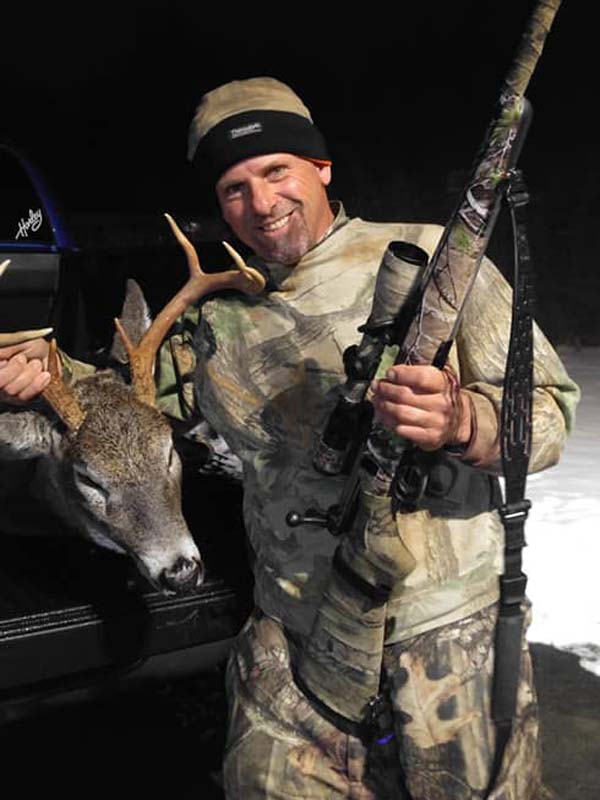 2018: John Mundell of Queensbury, NY with a Warren County 8-pointer.