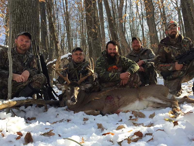 2018: Jason Delong and the GAP CLUB, 170-pound, 10-pointer taken on state land.