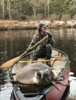 2018: Becca Meigel's 6-pointer taken in Moose River Plains, Hamilton County.
