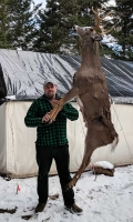 2018: Chris Graves of Remsen, NY with a big Herkimer County buck