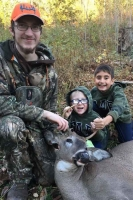 2018: Ethan Lobdell of Ticonderoga with his first Adirondack buck; a 135-pount, 5-pointer taken Oct. 18 in Moriah, Essex County.