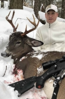 2018: Jay Scott, with a Hamilton County 8-pointer taken in Raquette Lake.