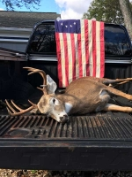 2018: Luck Mance of Fort Ann's opening day 10-pointer taken in Lake Luzerne.