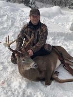 2018: John Jweid, Whitesboro, NY: 167-pound, 9-pointer. Dec. 1 in Indian Lake, Hamilton County.