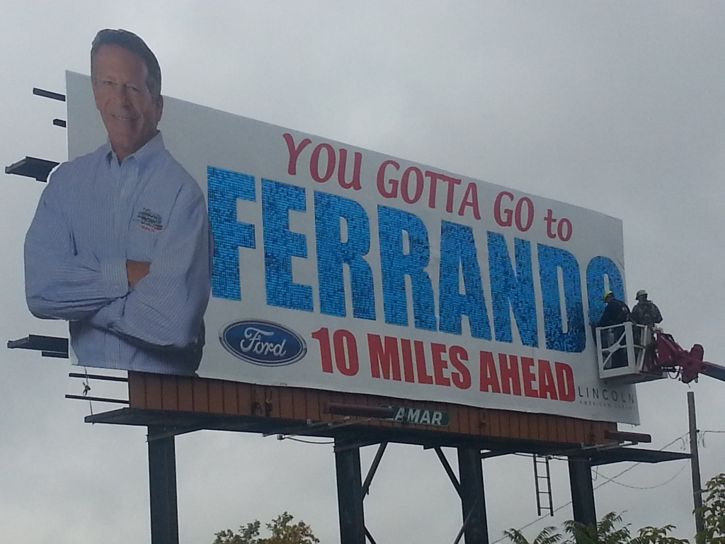 Lamar Erie, PA Ferrando Ford SolaRay Billboard 2 (1024x768).jpg
