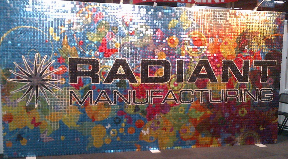 Radiant Mfg. 2013 ISA Expo Booth Crop