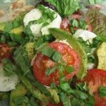 California Caprese Salad & Rotini Bolognese