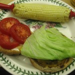 An All-American Summer Meal: Cheeseburgers, Potato Salad, and Corn on-the-Cob