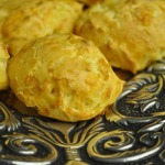 Gougeres & Kir Royale (French Fridays with Dorie Recipes), Rib-eye Steaks, Asparagus, Baked Potatoes and Flaky Apple Turnovers