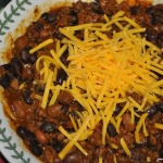 100th Post!  John's Chili and Beer Bread
