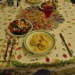 Bay Shrimp Salad and Crab & Lobster Mornay Vol-au-Vents