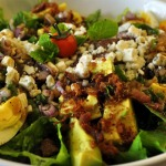 Steak Cobb Salad with Blackberry Lime Vinaigrette
