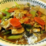 Chicken and Asparagus Stir-fry with Almonds