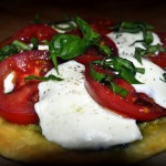 Dinner Salad and Tomato-Cheese Tartlets ~ French Fridays with Dorie