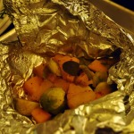 Brown-sugar Squash and Brussels Sprouts en Papillote ~ French Fridays with Dorie