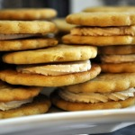 Malted Milk Sandwich Cookies ~ Baked Sunday Mornings