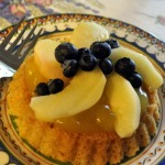 Sable Breton Galette with Peaches and Blueberries ~ French Fridays with Dorie