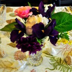 A Cajun Birthday Party: Gulf Oysters, Butterleaf Lettuce Salad with Orange Vinaigrette, Crawfish Etouffe, and Chocolate Berry Cake