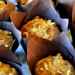 King Arthur Flour: Cinnamon Apple Muffins with Walnuts
