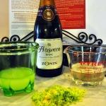 Baked Sunday Mornings: Lemon Lime Champagne Granita