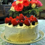 Berry Basket Cake