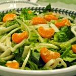 Tangerine and Fennel Salad with Mandarin Orange Vinaigrette